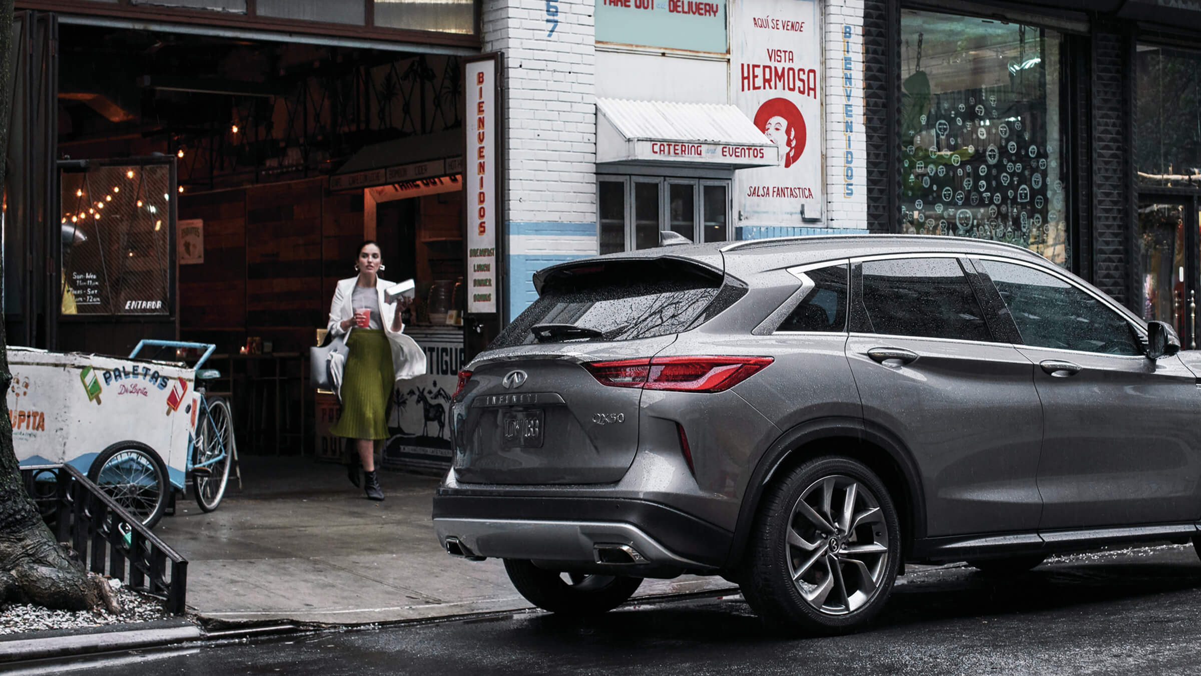 2020 INFINITI QX50 Luxury Crossover Rear Exterior